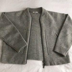 Madewell lambs wool sweater jacket
